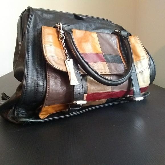 Dkny Handbags - DKNY Leather Satchel Bag